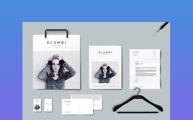 Fashion Graphic Design Stationary Package
