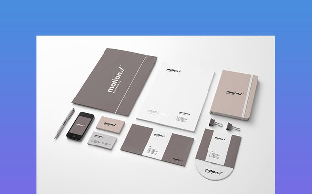 Motion Corporate Branding Materials