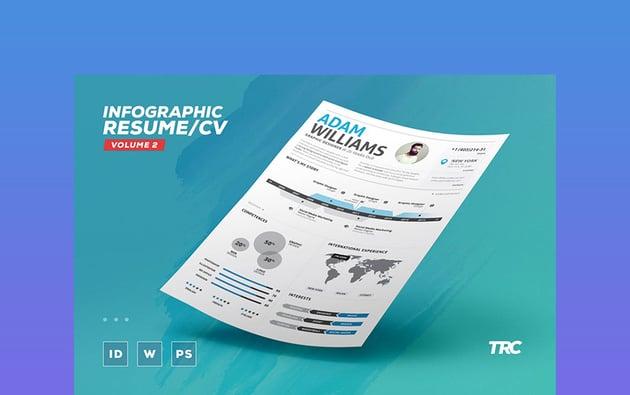 Infographics  Creative Professional Resume