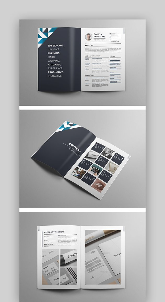 Creative Portfolio Brochure - INDD
