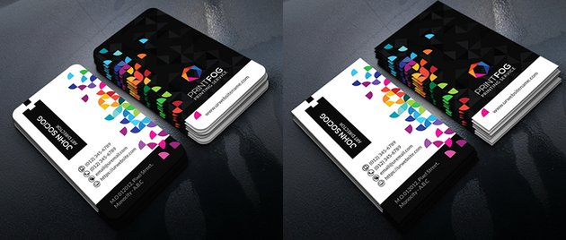Colorful Creative Business Card Templates