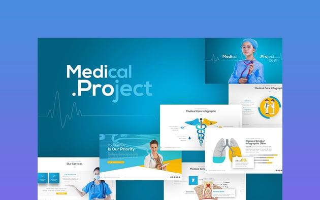 Medipro - Medical Health PPT Templates