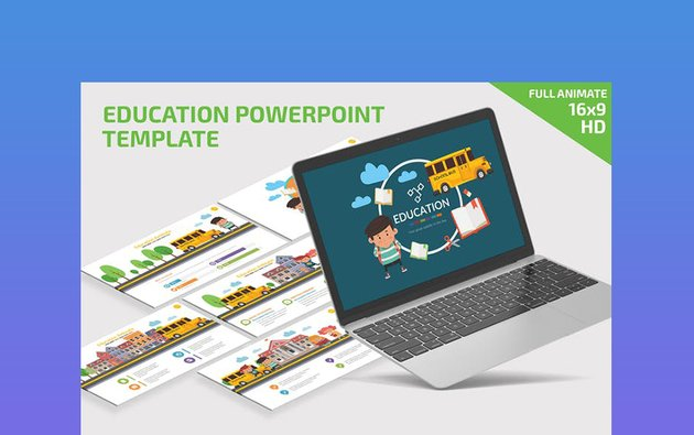 Fully Animated Academic PowerPoint Templates