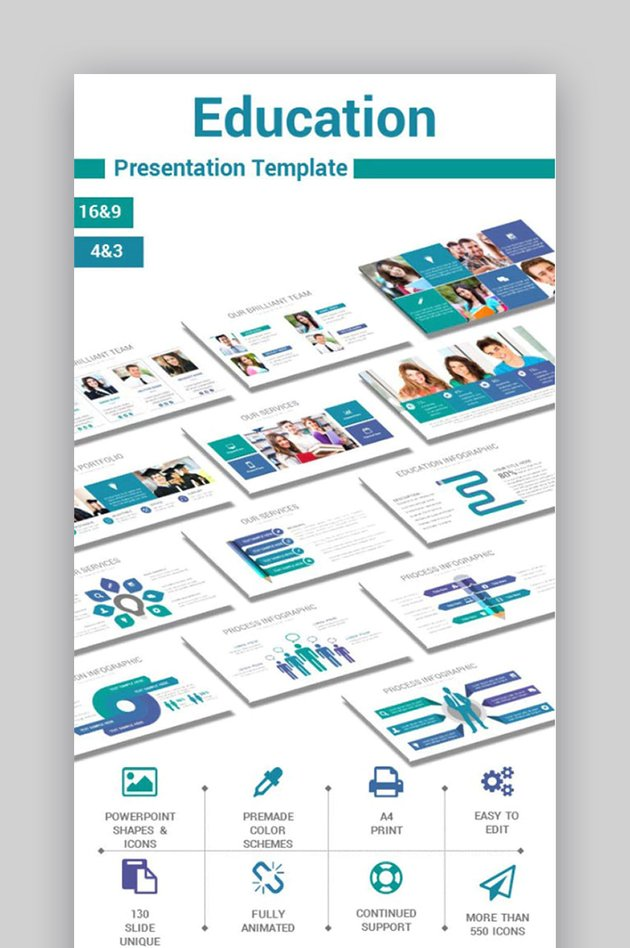 Educational - Powerpoint Template
