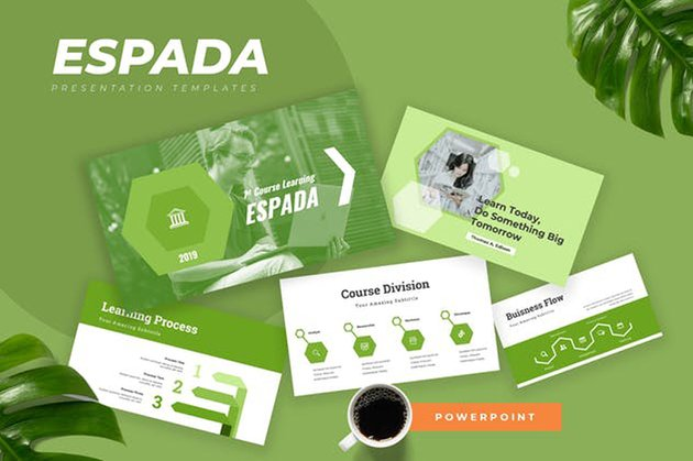 Espada - Education Powerpoint Presentation
