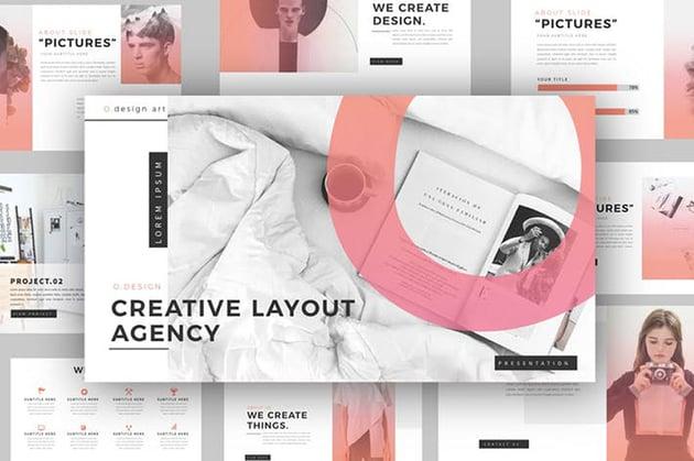IPSUM - Creative Multipurpose Powerpoint Template Design