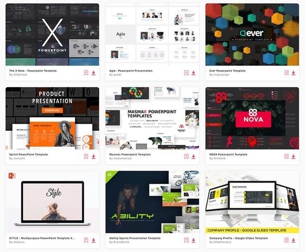 Best New Presentation Templates Trending in 2021 on Elements