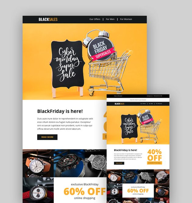 Blacksales - Best Email Templates for Promotions