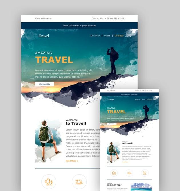 Travel - Mailchimp Themes