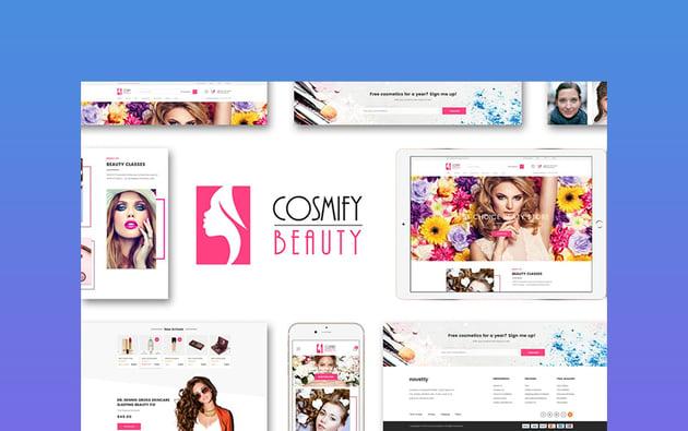 Cosmify fashion theme