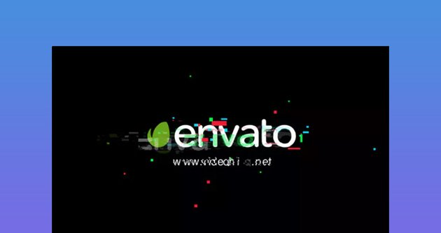 Glitch - Simple Logo Animado After Effects Template