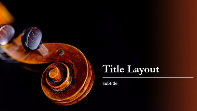 Music Score - PowerPoint Templates Free Download Music