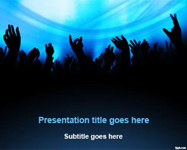 Free DJ Entertainment PowerPoint Template