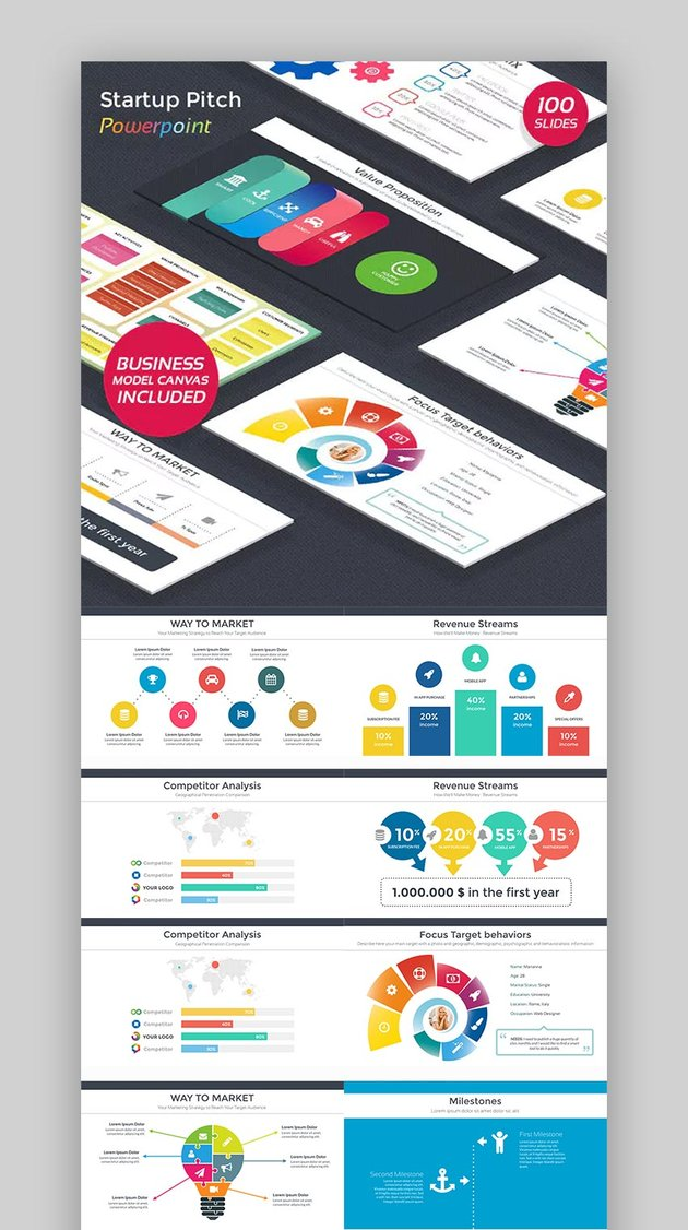Startup Pitch - PowerPoint Templates Fun