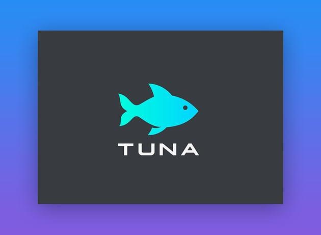Logo Fish Tuna Seafood Restaurant Store