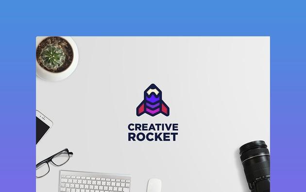 Creative Rocket - Logo Template