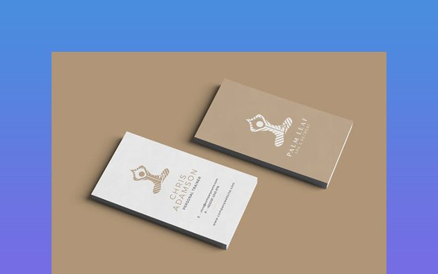 Health and Wellness Business Card