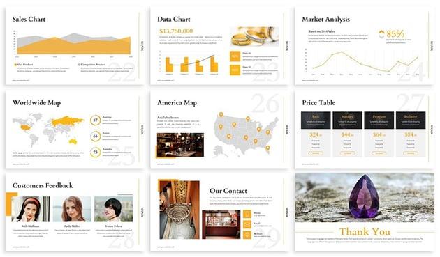 Manik - Elegant Accessories PowerPoint Template