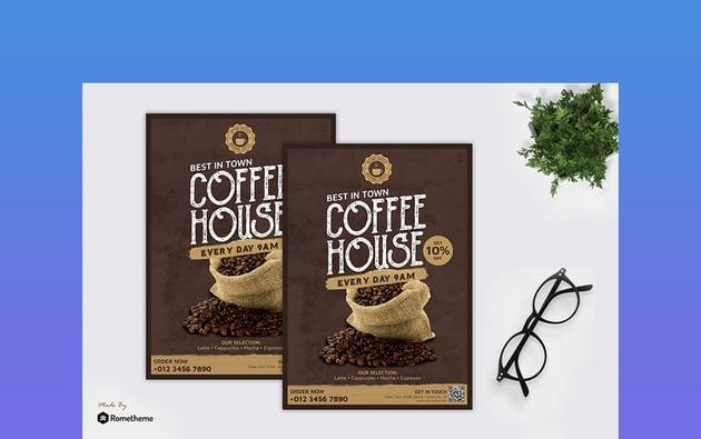 Retro Coffee Flyer