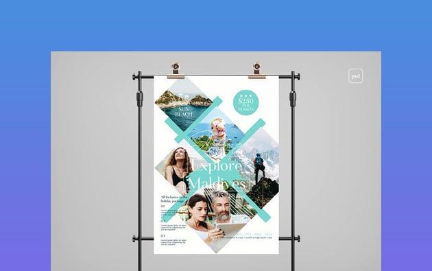 Travel Photoshop Flyer Templates