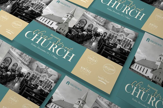 Church A5 Flyer Template an example of when a high-quality visual is needed