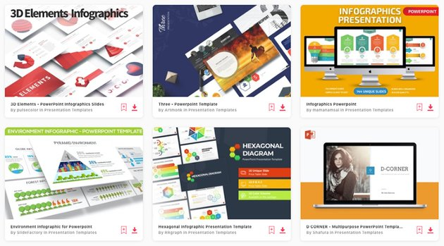 Choose from thousands of top 3D Infographic PowerPoint templates from Envato Elements