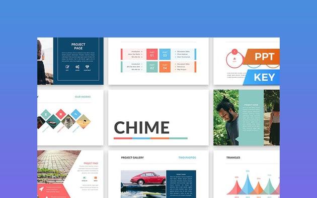 Chime - Microsoft PPT Theme