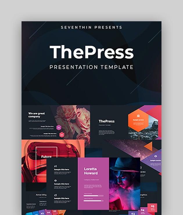 ThePress - Animated Microsoft PowerPoint Theme