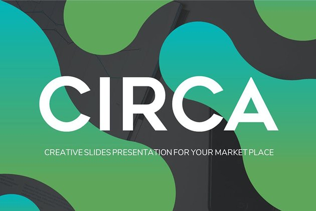 Circa - Abstract PowerPoint Template