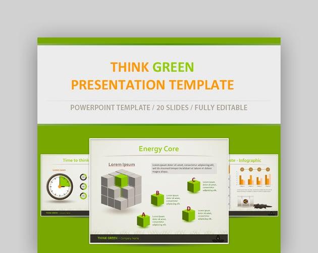 Think Green Eco Friendly Presentation