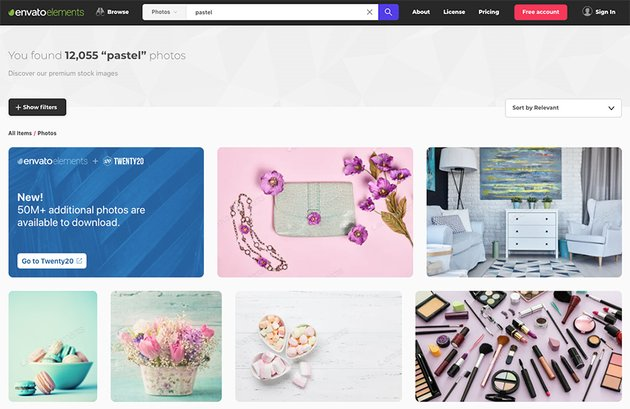 Pastel high-quality royalty-free stock photo from Envato Elements