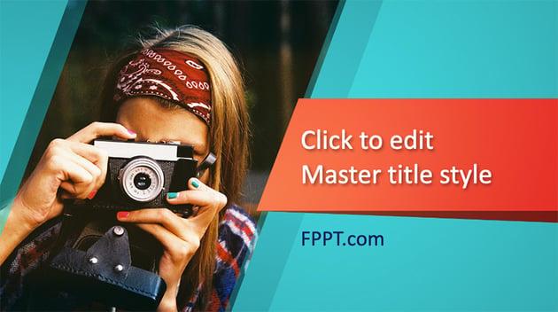 Photographer - Free 90s Slideshow Template
