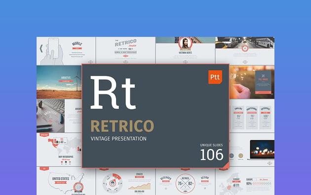 Retrico - Retro Vintage Slides
