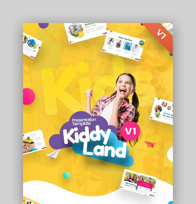 Kiddyland Fun Education PowerPoint Presentation Template