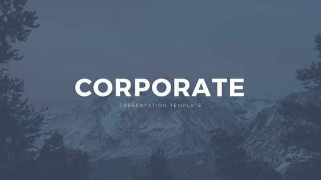 Corporate Free Google Slides Theme