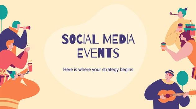 Social Media Events Presentation