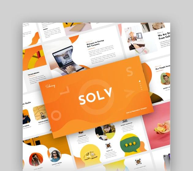 Solv - Startup Business Google Slide Presentation Template