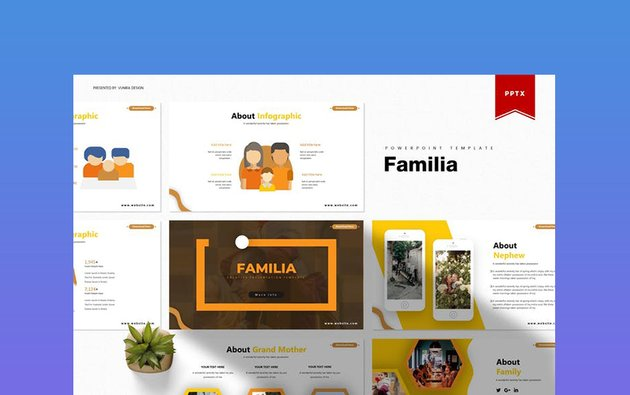 Familia - PowerPoint Template