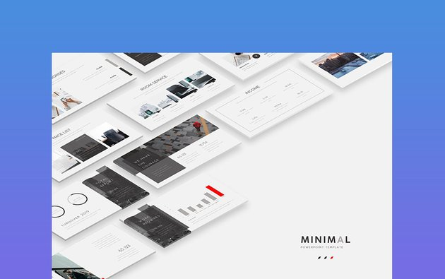 MINIMAL - Business Storyboard PowerPoint Template