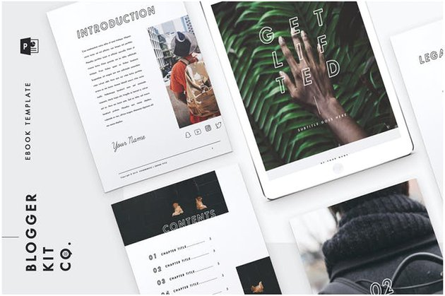 Get Lifted - eBook Template - 28 Pages a premium template on Envato Elements