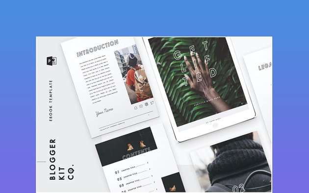 Get Lifted - eBook Template - 28 Pages
