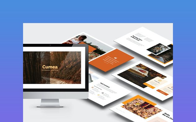 Cumea - Thanksgiving Day PPT Template