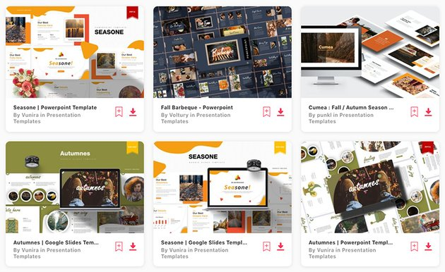 Premium Thanksgiving PPT Templates From Envato Elements