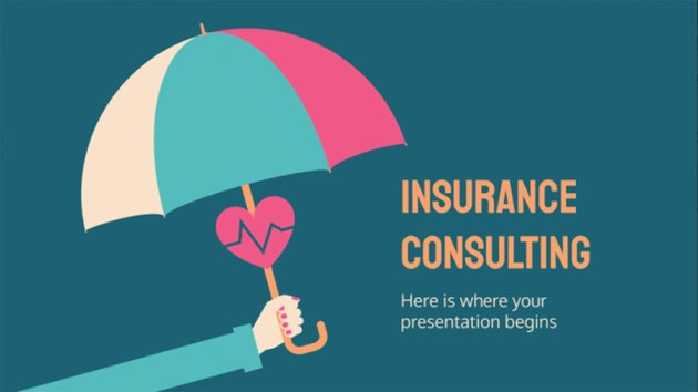 Insurance Free Consulting Presentation Format PPT