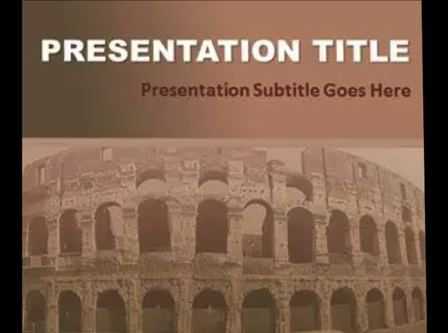 Civilization Free Best PowerPoint Template for History Presentations