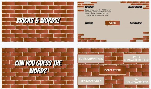 Bricks and Words - Free Game Template