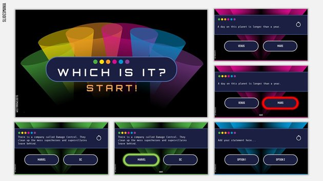 Trivia - Google Slides Jeopardy Template