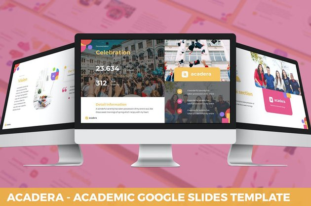 Acadera - Academic Google Slides Template, a premium template on Envato Elements