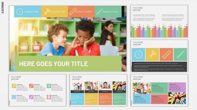 Jefferson - Free School Google Slides Template