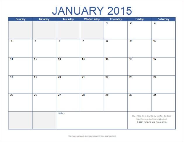 Free Monthly Calendar Template Google Slides